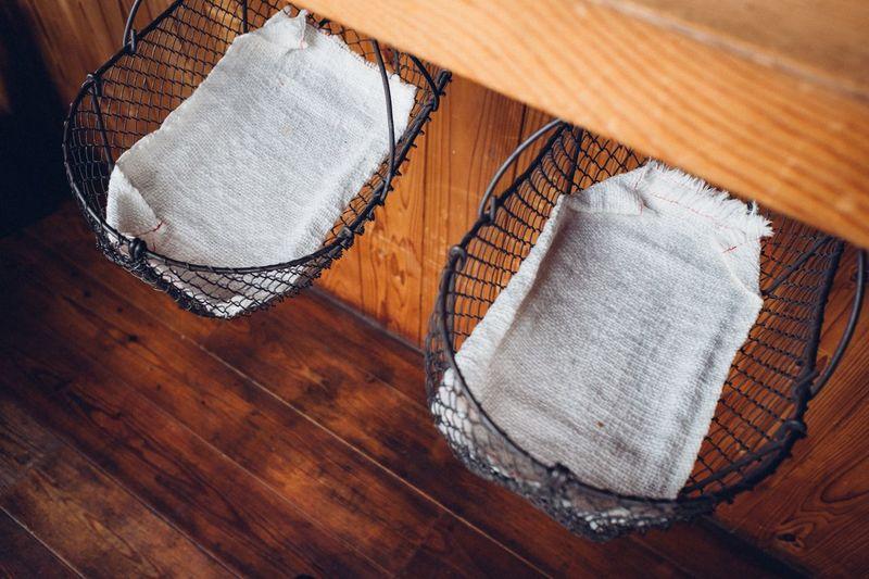 Metal baskets hanging Basket Vintage