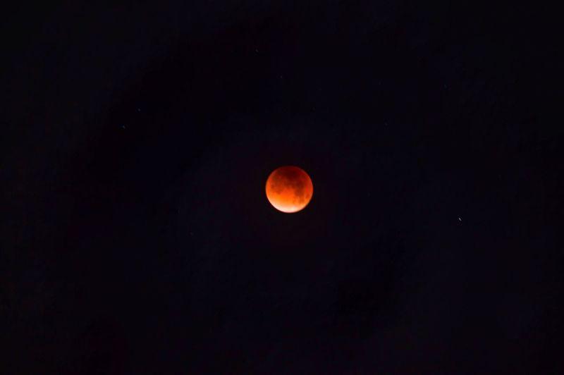 Blood moon was