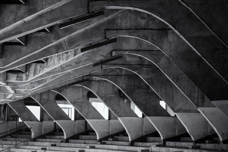 Repetation Architecture Bridge - Man Made Structure Built Structure Close-up Day Indoors  No People Repetition Stadium Structure The Architect - 2017 EyeEm Awards The Architect - 2018 EyeEm Awards