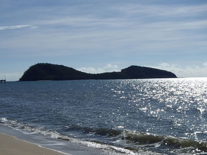 Double Island Q LD Palm Cove Water Sea Beauty In Nature Sky Scenics - Nature Beach Tranquil Scene Tranquility Cloud - Sky No People Outdoors