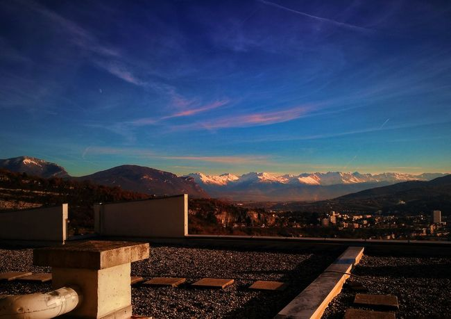 Mountain On The Roof Scenics Landscape Savoie Beautiful Colors