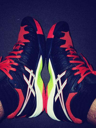 Loveshoes AsicsGel Red Shoe