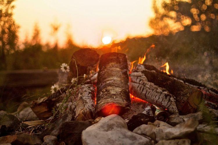 Lakeside fire