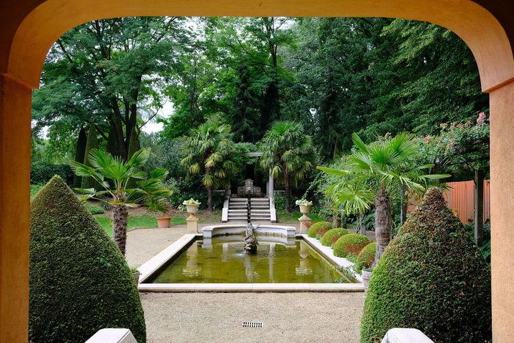 Italian garden.