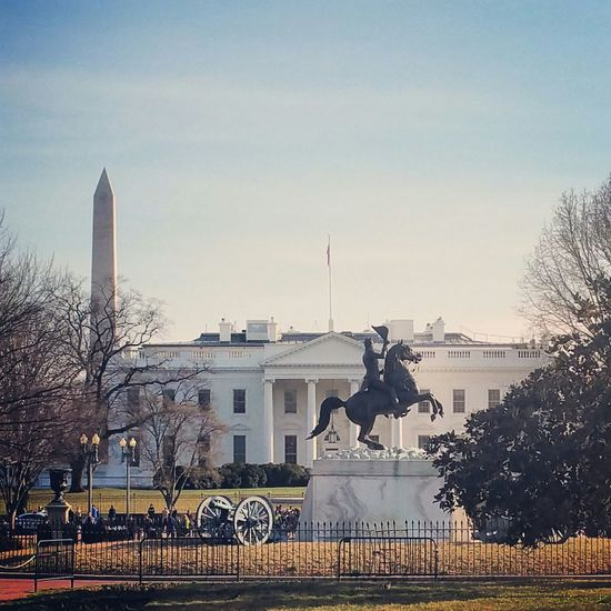 The White House Washington DC Washington Monument The Traveler - 2015 EyeEm Awards