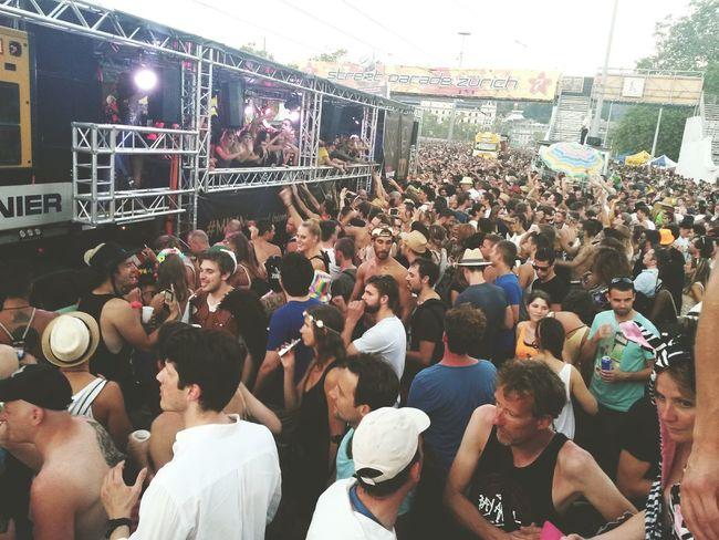 Streetparade People Jam Tecno Festival Summer Party Zürich Switzerland