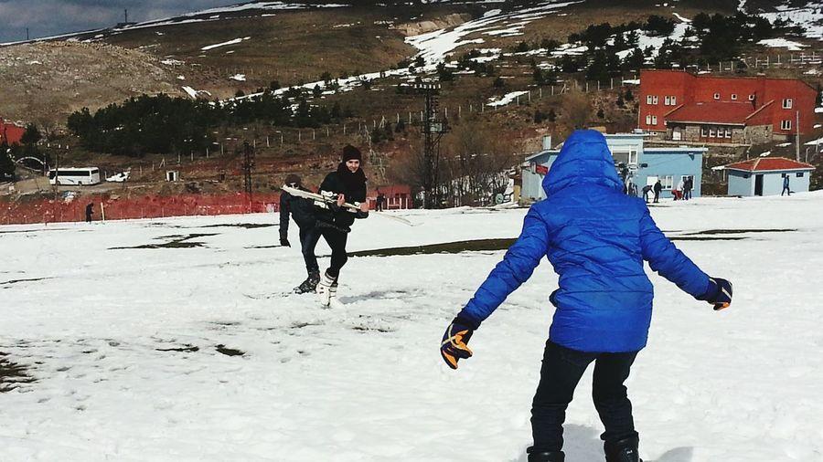 Elmadağ Kayak Merkezi Skiing KingForADay Cold Winter ❄⛄