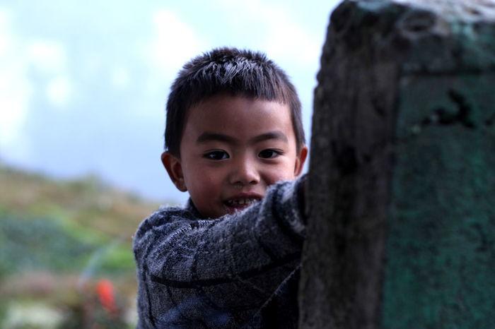 Childhood Children Children's Portraits Growing Up Nepal Nepal Travel Portrait Simple Life