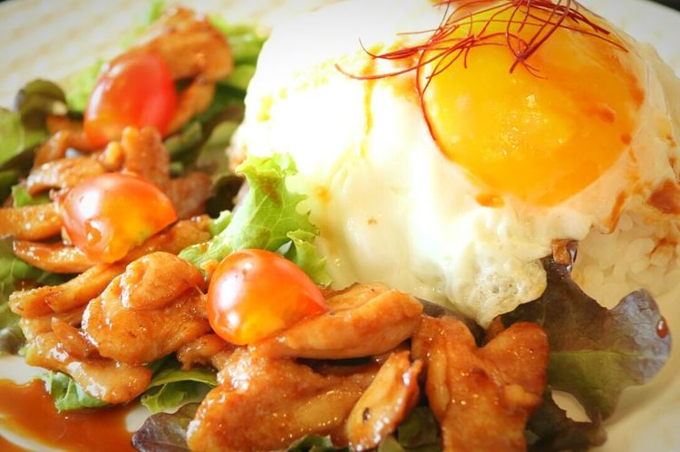 Food And Drink Food Ready-to-eat No People Close-up Fried Egg Fried Egg Thai Style Fried Eggplant Eating Eat Eat And Eat Eating Good Earth_Collections