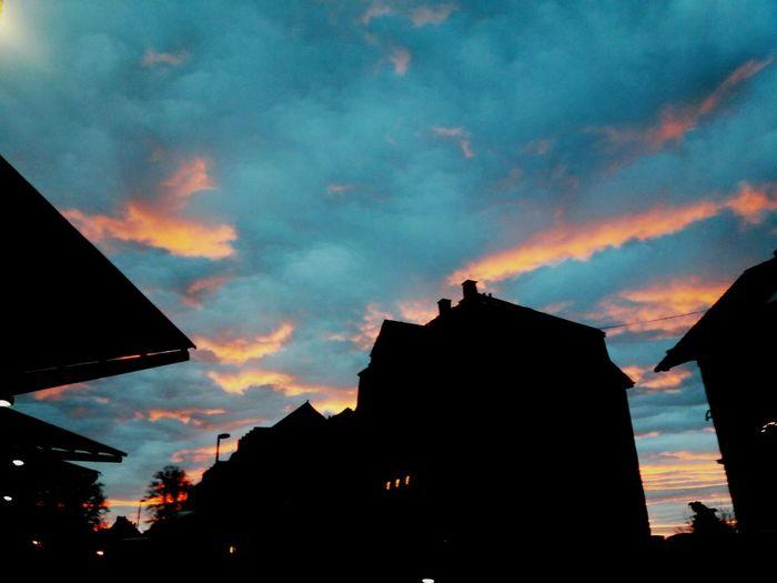 Stadthimmel Cloud - Sky City Sunset First Eyeem Photo