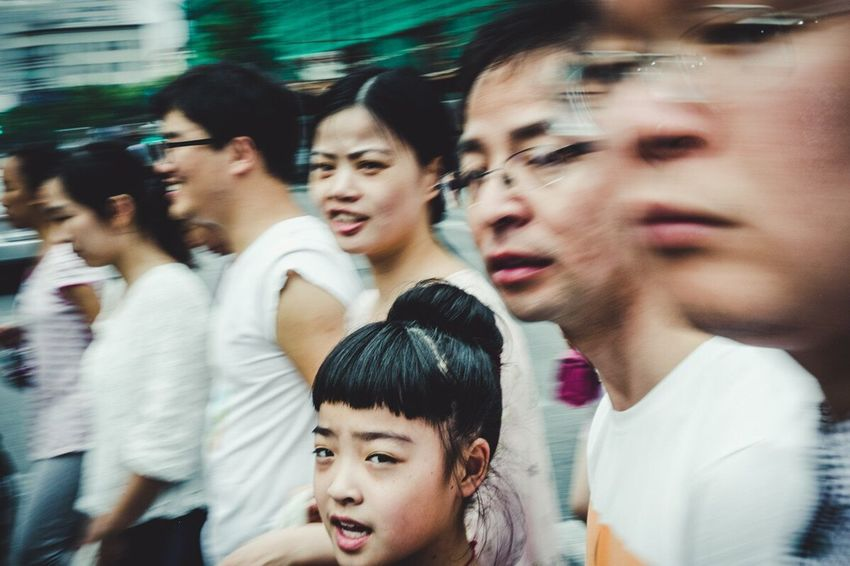 East Nanjing Road, Shanghai China Streetphotography Passerby Shanghai Streetphoto_color The Street Photographer - 2017 EyeEm Awards