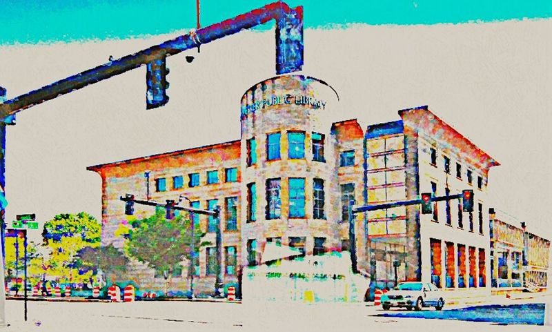 Library Window🏤🏤🏤😎!!! Streetphotography Streetlights Libraries Artistic Photo Artphoto Pastel My View Color Photography