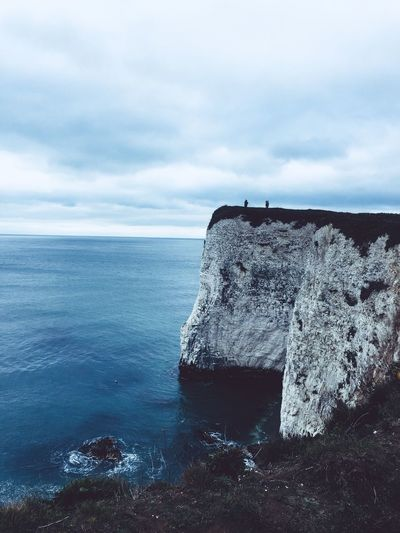 Studland cliffs Silhuette Silhouettes Blueandwhite Blue March Seascape Seascape Photography Water Cloud - Sky Sky Sea Nature Scenics - Nature Tranquil Scene Beauty In Nature Outdoors Power In Nature Solid Breaking Travel Rock Horizon Day Motion Land Tranquility A New Beginning