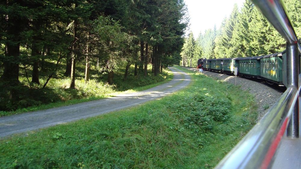 Fichtelbergbahn Erzgebirge Deutschland Eisenbahn Check This Out That's Me Hanging Out Hello World Cheese! Relaxing Taking Photos Train 2010