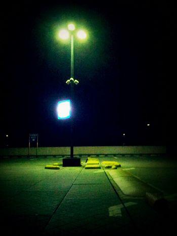 Parking Lot Street Light