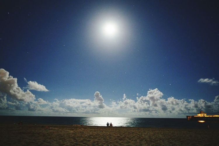 Beach Water Sky