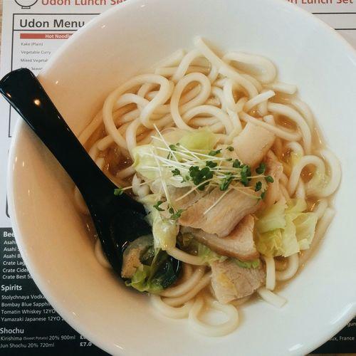 Pork belly & cabbage udon