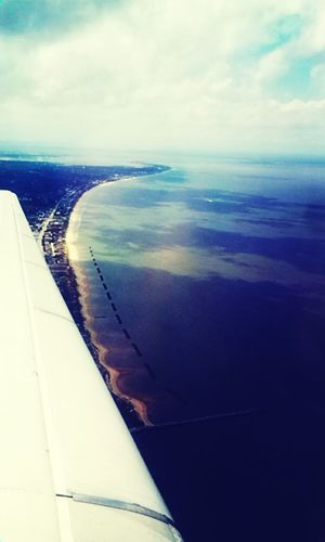 Flying ♥ Norfolk Va From The Plane Window I Miss It