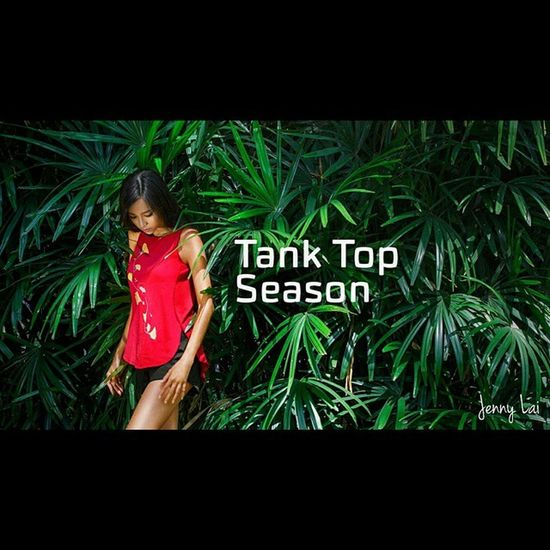 Ginkgo girl. I like this photo so much. I didn't like red tank top but when I found Ginkgo and bought one, then I fall in love. Quality and design is good. It's also a memorable souvenir if you travel Vietnam. For more information: www.ginkgo-vietnam.com Vietnamese Redtanktop Vietnamdesign Model Lookbookfashion Lookbook Tan Skin