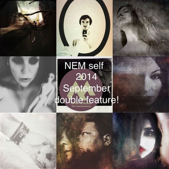 NEM Self Here is part Two of the NEM self September double feature! Thank you all for your posts! Part 2 will be published on NEM site later this week! @Brett Chenoweth: http://neweramuseum.org/words/2014/9/14/brett-chenoweth-selections-for-nem-self- Group 2 http://www.eyeem.com/p/46125272 Marsha Estes @marshadraws http://www.eyeem.com/p/43605043 lyam @lyam http://www.eyeem.com/p/46080997 Vanessa Vox @VanessaVox http://www.eyeem.com/p/42409543 Ginger Lucero @Sxethang http://www.eyeem.com/p/43428389 Stefania P. Bigiarini http://www.eyeem.com/p/44297744 columnsovsleep @columnsovsleep http://www.eyeem.com/p/44198312 Cathrine Halsor @cathrinehalsor http://www.eyeem.com/p/43310863 jenbracewell @JenniferBracewell