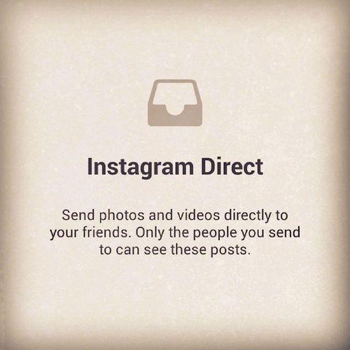 Instagram Direct Coolupdate