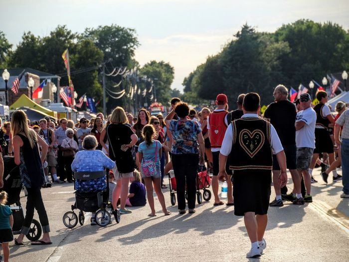 55th Annual National Czech Festival August 5, 2016 Wilber, Nebraska A Day In The Life Americans Camera Work Casual Clothing City Life Crowd Czech Days Czech Festival Day Festival Group Of People Large Group Of People Leisure Activity Lifestyles Men Mixed Age Range Nebraska Outdoors Person Road Sky Small Town USA Traditions Tree Wilber, Nebraska