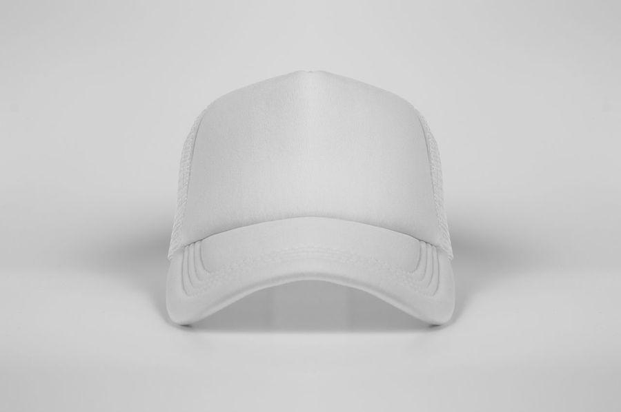 Cap Trucker Cap White Cap