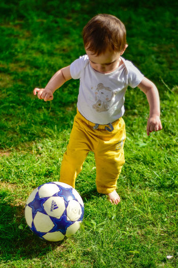 Soccer Child Soccer Ball Playing One Boy Only Boys Grass Children Only Kicking Soccer Player Only Boys MySonMyLoveMyEverything MySON♥ Footballer Football Player Football Fans Izmir Foça Turkey Izmir Adidas Adidas Originals Adidas Superstar Be. Ready.