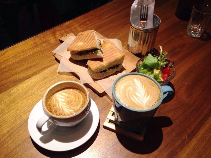 Coffee Latte Cafe Taipei