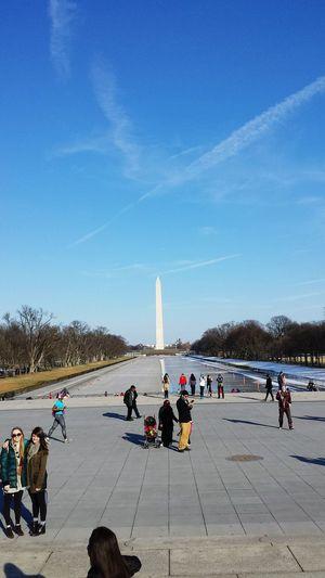 WashingtonDC Statue Traveling