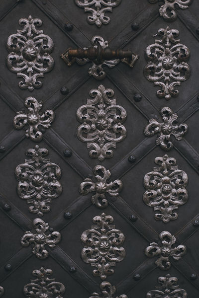 more: PART I: https://barbara-duchalska.blogspo PART II: https://barbara-duchalska.blogspo Prague Architecture Backgrounds Black Background Built Structure Close-up Day Design Door Full Frame Luxury No People Outdoors Pattern