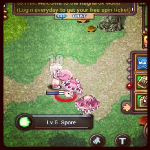 Playing my all time favourite online game 'Ragnarok' since i was in elementary. Now i cant believe that there is also a game in android. Lololol. Ragnarok Valkyrie Rodays Games