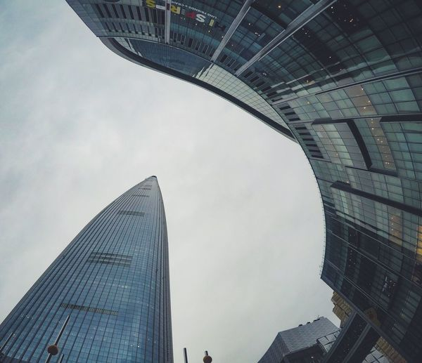 Architecture Built Structure Modern Skyscraper Low Angle View Building Exterior City Travel Destinations Outdoors No People Sky Day