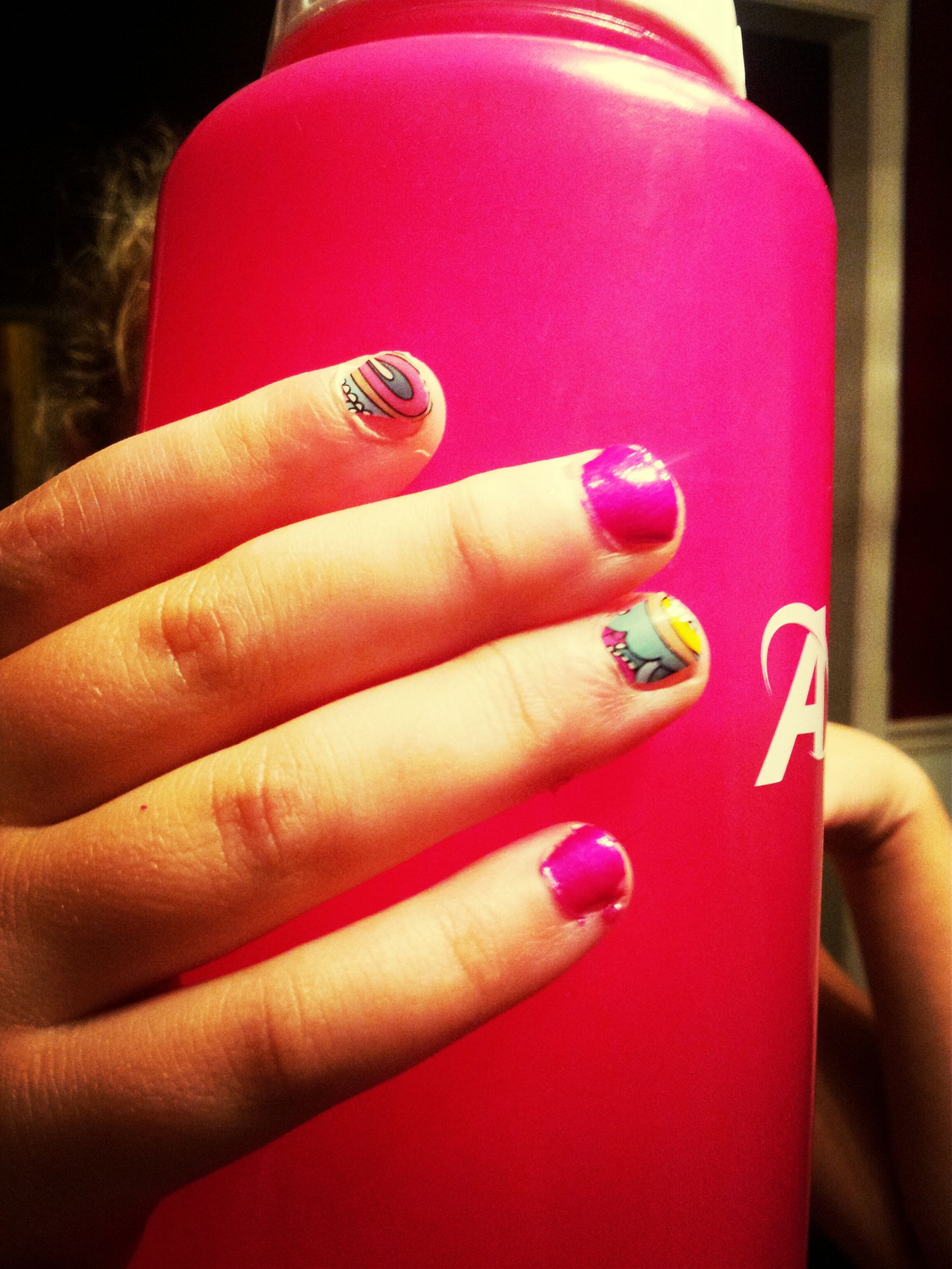 person, part of, holding, human finger, cropped, indoors, close-up, focus on foreground, lifestyles, unrecognizable person, personal perspective, red, nail polish, ring, leisure activity, showing
