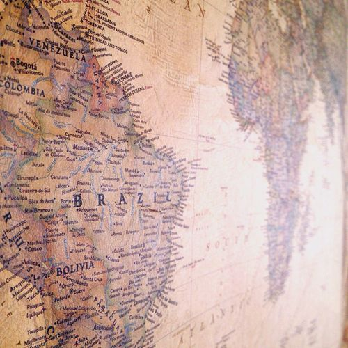 The World Old Map