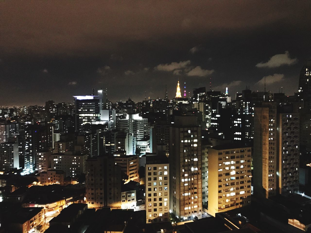 illuminated, architecture, cityscape, city, building exterior, night, modern, skyscraper, built structure, sky, growth, no people, outdoors