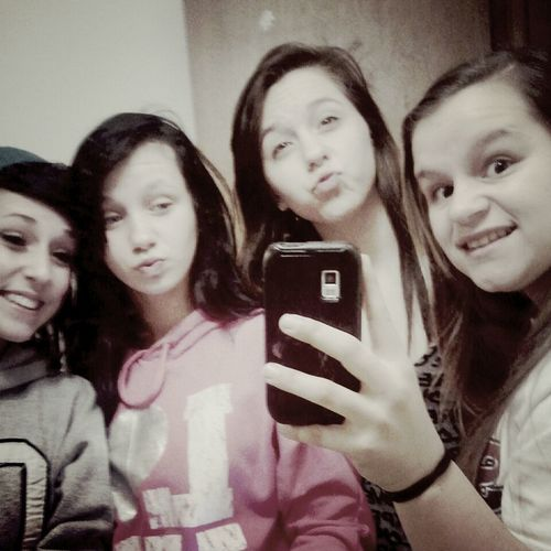 these are my bestfriends and I wouldnt trade them for anything.