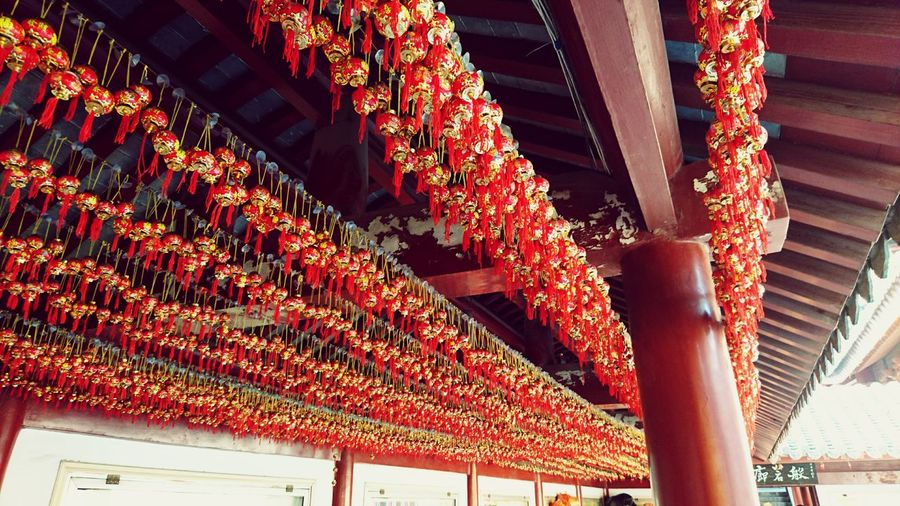 Best wishes in a temple. Nanjing.China Architecture Lanterns Chinese Lantern