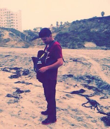 Yo y mi hijo Dad And Son Baby Boy Family Walks Walks On The Beach
