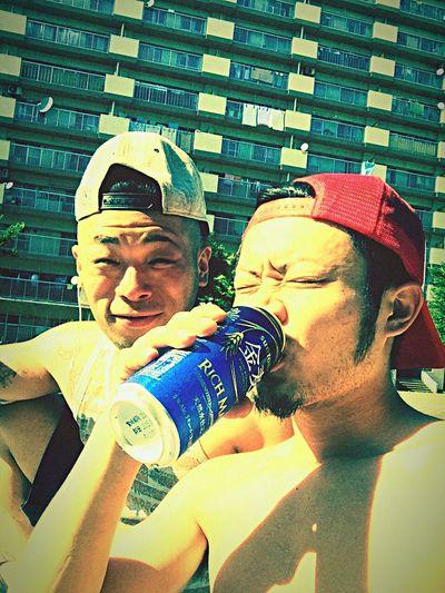 天然日サロ ビール 祭り前