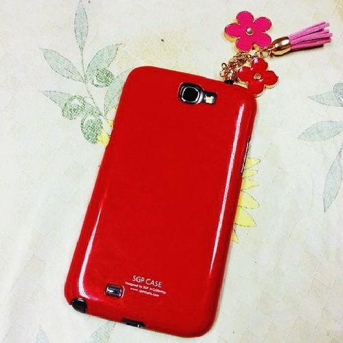 NewPhoneCase CuteAccsessories Red Noteii