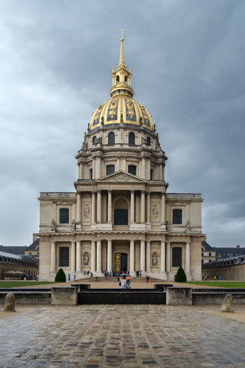 Napoleon's Tomb Architecture Building Exterior Built Structure City Cloud - Sky Day Dome History Outdoors Sky Tomb Of Napoleon Tourism Travel Travel Destinations