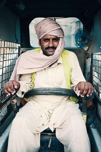 The Portraitist - 2016 EyeEm Awards Man Bulldozer Dubai People Natural Light Portrait The Portraitist - 2017 EyeEm Awards