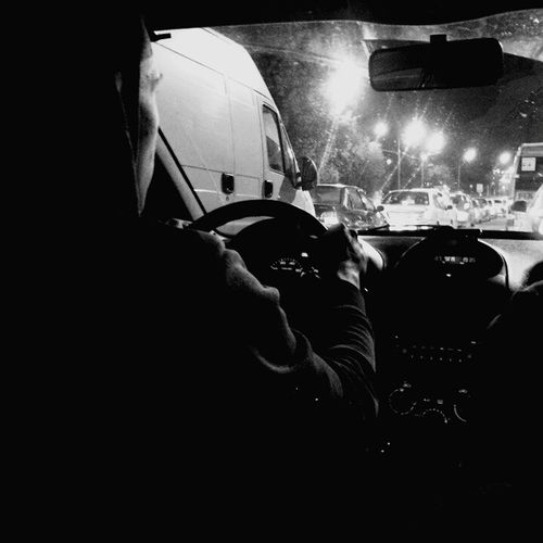 Transportation На тачюхе ) Car Transportation Night Travel Person Horizontal Car Interior Only Men People Illuminated Driving Adult Nightlife Men Passenger Seat Human Body Part Outdoors One Man Only First Eyeem Photo