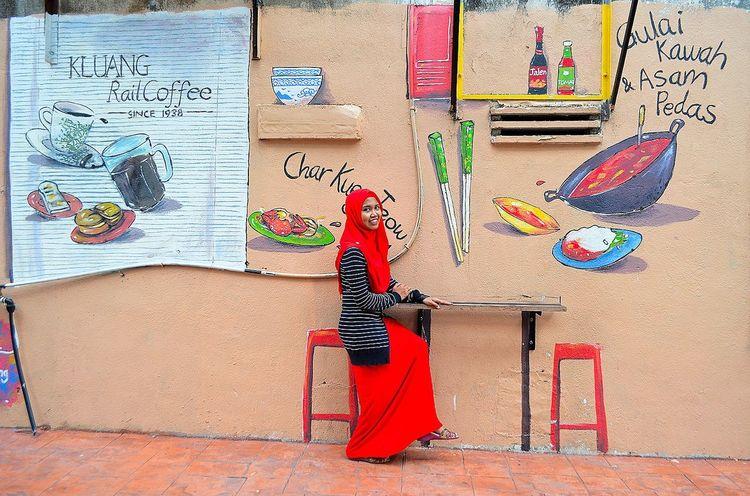 Mural Muralart Jalan2man Malaysiatrulyasia Makaumakau Cuticutimalaysia Jalan2men Johorbahru Just Chillin'