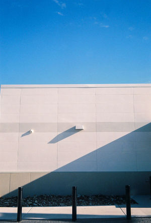 Late afternoon shadows Blue Architecture No People Outdoors Sky Missouri Springfieldmo Springfield, MO Film Photography 35mm Film 35mm Street Photography Architecture Built Structure Day Sommergefühle