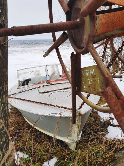 EyeEm Best Shots EyeEmNewHere EyeEm Nature Lover Cold Frozen Nature No People Winter Snow Beach Sea Lake Lake View Samsungphotography Ice Boat Close-up Nature Sky Day Outdoors Sailing Moored Water Mode Of Transport Transportation Nautical Vessel EyeEmNewHere Shades Of Winter California Dreamin