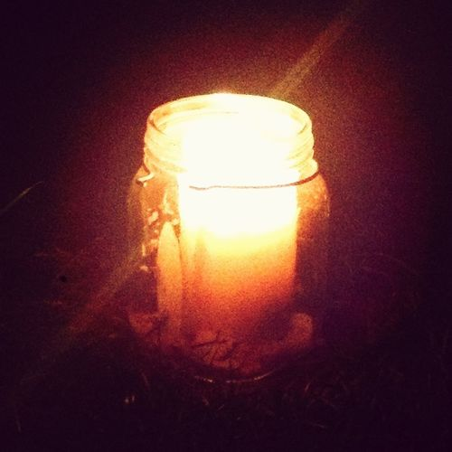 Glorious candle... Good night.. Though its not really a good night.. Hey Ho..