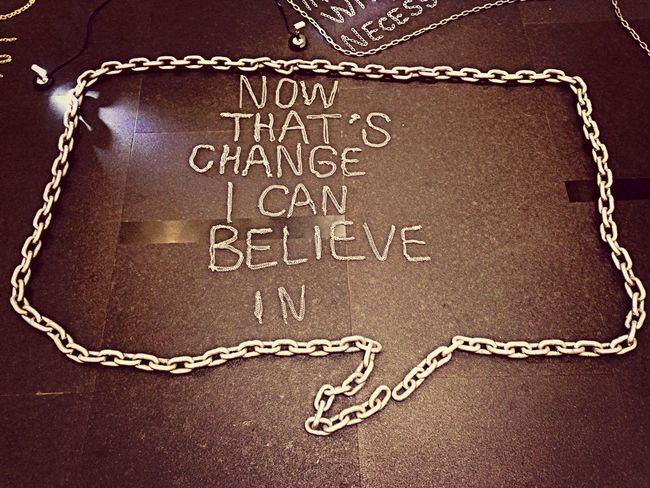 Chain Lettering Street Art Fashioncurator