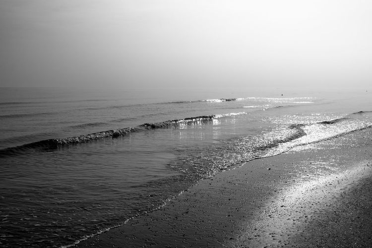 Beach Black And